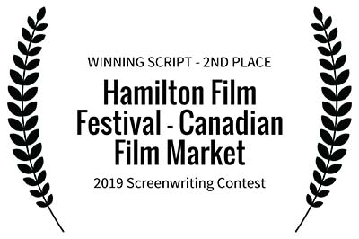 Screenplay for Incarnations Wins 2nd Place at Hamilton Film Festival